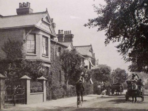 Ealing Cottage Hospital at the top of Northfields Avenue, site rebuilt as the Kinema, now Lido House