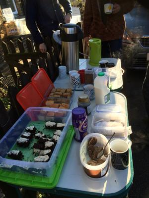 Tea and Cake -Ealing Dean Allotments
