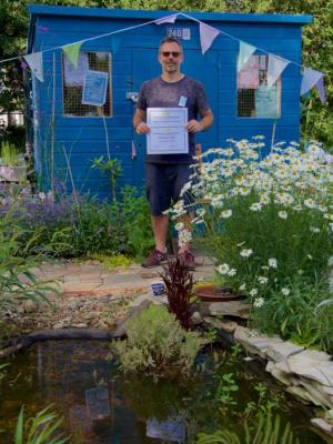 EDAS open day - Vistors' favourite plot award winner
