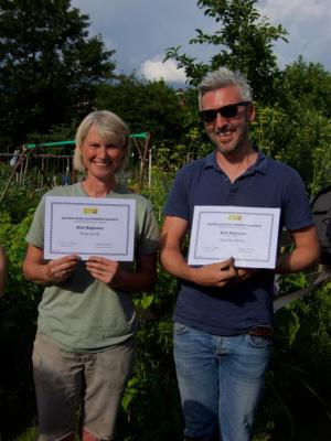 EDAS open day - Best beginners award winners