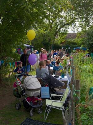 Ealing Dean Allotment Society Open Day 2016