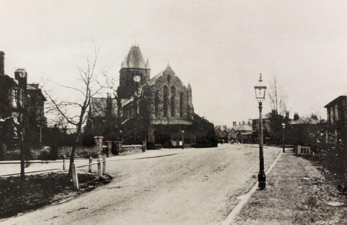 St John's Church, Allotment and Common (c 1904)