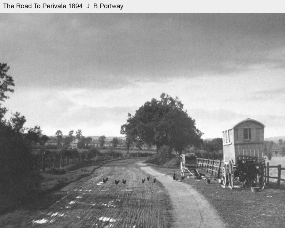 A rural looking Ealing in 1894